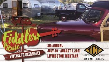 8th annual Fiddlers Picnic Vintage Trailer Rally-Canceled for 2021