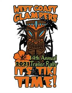 West Coast Glampers Northern Rally-It's Tiki Time!