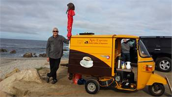Moto-Espresso Coffee Cart