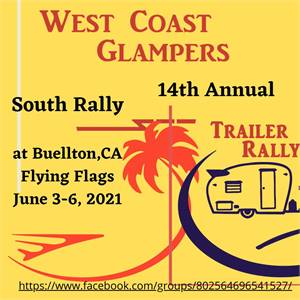 It's Tiki Time, with the West Coast Glampers, Southern Rally